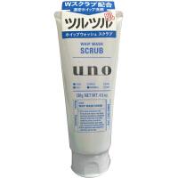 日本Shiseido/资生堂 UNO吾诺男士洗面奶洁净保湿洁面乳 蓝色