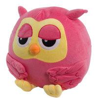 维莱 继承者们猫头鹰娃娃玩偶暖手抱枕/靠垫毛绒玩具公仔生日礼物