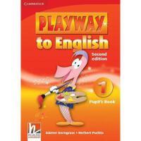 【预订】Playway to English, Level 1: Pupil's Book