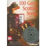 【预订】100 Great Scottish Songs: With Words and Music [With CD