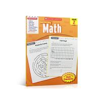 英文原版 Scholastic Success with Math, Grade 2 学乐能赢2级系列 平装绘本