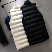 羽绒棉马甲女士冬季新中长韩版立领无袖百搭显瘦棉衣背心外套