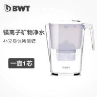 【欧洲进口】BWT净水壶家用过滤水壶去水垢加强版滤芯倍世净水器3.6L滤水壶套装1壶7芯