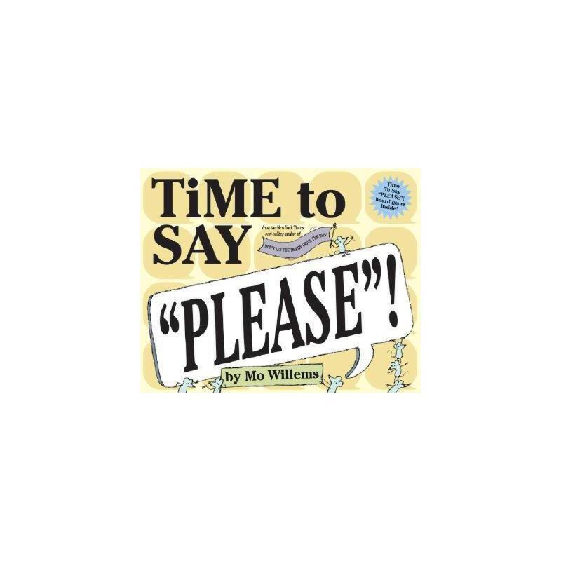 """【预订】Time to Say """"Please""""! 美国库房发货,通常付款后3-5周到货!"""