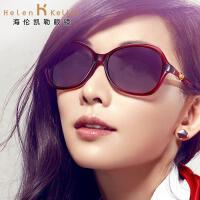 海伦凯勒太阳镜女款开车司机偏光镜 简约墨镜林志玲代言 H8306