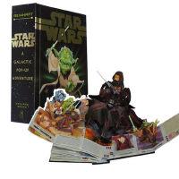 Star Wars: A Galactic Pop-Up Adventure 英文原版 星球大战:星际立体书