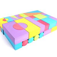 eva大块软体泡沫积木玩具幼儿童乐园力礼物