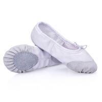 儿童舞蹈鞋女成人软底练功鞋芭蕾舞鞋男帆布形体瑜珈鞋猫爪鞋