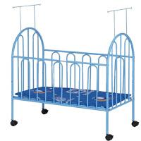婴儿床带滚轮蚊帐儿童宝宝环保无味bb床多功能新生儿大床铁床