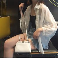 2017夏季防晒衣女韩版宽松bf百搭超薄雪纺开衫长袖短款外套学生潮
