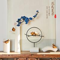 创意中式禅意家居软装饰品摆件茶几摆设