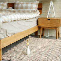 卧室地毯床边毯可机洗现代简约儿童地垫脚垫