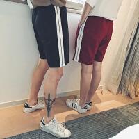 短裤男2018新款夏季宽松沙滩裤学生运动休闲裤个性五分裤潮流