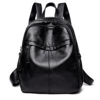 背包女士双肩包新款潮百搭时尚休闲书包旅行包包秋