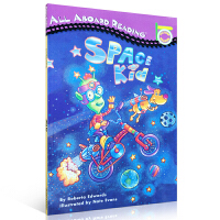 英文原版 SPACE KID 宇宙孩子All aboard Reading Peinguin 汪培�E入门绘本