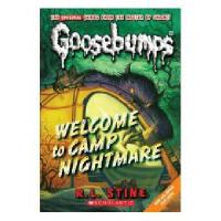 英文原版儿童书 CLASSIC GOOSEBUMPS #14: Welcome to Camp Nightmare鸡皮