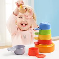 1-2岁叠叠乐女宝宝认知叠叠套杯儿童层层叠婴幼儿玩具