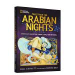 世界经典神话传说系列 Treasury of Arabian Nights 阿拉伯神话 英文原版 National G