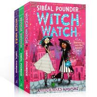 现货 英文原版 Witch Wars/Witch Wars 2/Witch Watch 女巫争霸 桥梁章节书 女孩读物