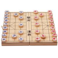 象棋实木儿童中小学生培训文体用品木质中国象棋棋盘木制橡棋