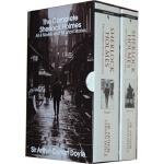 【现货】英文原版 福尔摩斯侦探全集The Complete Sherlock Holmes Boxed Set(2 Volumes) 简装小开本套装 便携版