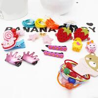 儿童发饰 宝宝生日礼物情人节礼物头饰 儿童发夹头饰套装情人节礼物