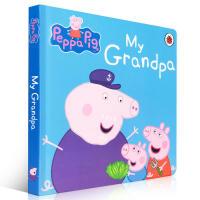 英文原版 Peppa Pig: My Grandpa 粉红猪小妹:我的爷爷 幼儿纸板书籍儿童启蒙认知童书绘本 0-3-