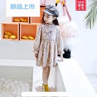 儿童连衣裙2018年春夏装新款韩版小女孩碎花裙子雪纺裙女童公主裙