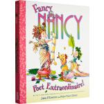 漂亮的南希 英文原版绘本 Fancy Nancy Poet Extraordinaire! 精装儿童故事图画书