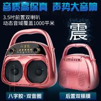 夏新Q2移动音响广场舞带无线蓝牙播放器便携式小型户外音箱 旗舰版-玫瑰金
