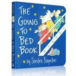 The Going to Bed Book 到床上看书 早教启蒙英语 亲子互动晚安故事 英文原版 撕不烂纸板书 宝宝该