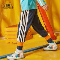 【春装上新:71.7元】小虎宝儿男童休闲长裤2020春装新款童装中大童韩版儿童运动裤潮童