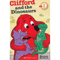 Clifford Ana The Dinosaurs (Level 1)学乐分级读物1:大红狗和恐龙ISBN9780545231435