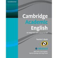 【预订】Cambridge Academic English C1 Advanced Teacher's