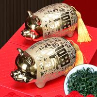 金猪送福安溪铁观音茶叶礼盒装浓香型春节年货*礼品茶