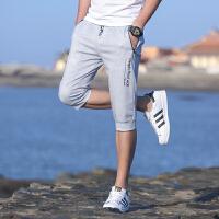 运动短裤男裤子运动裤男夏2018夏季新新品七分裤男士