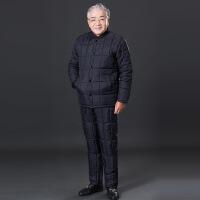 中老年内胆男老年人套装棉衣+棉裤老人内穿加厚保暖棉内胆老爷爷