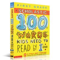 小学教辅100 Words Reading Workbook 100词能力英文原版儿童图书 100 Vocabular