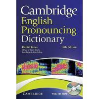 【预订】Cambridge English Pronouncing Dictionary [With