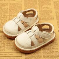 夏季新款婴儿学步鞋宝宝凉鞋包头男女幼儿鞋透气