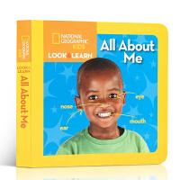 英文原版绘本 National Geographic Kids Look and Learn: All About M