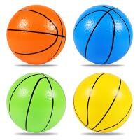 幼儿园拍拍球充气小皮球 儿童球类玩具运动6/8寸3/5号PVC篮球宝宝