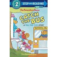 英文原版 贝贝熊:赶公交 分级读物 The Berenstain Bears Catch the Bus