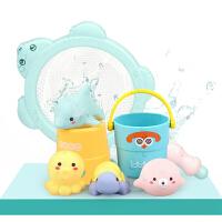 儿童男孩女孩小乌龟游泳喷水玩水宝宝1-3岁洗澡戏水玩具套装