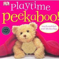 Peekaboo Playtime 躲猫猫的游戏【英文原版童书】
