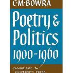 【预订】Poetry and Politics 1900 1960