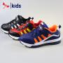 红蜻蜓童鞋男童中大童皮面减震跑步鞋运动鞋