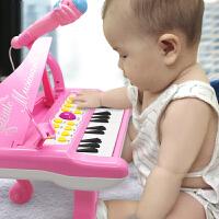 音乐电子琴初学女孩1-3岁6儿童钢琴玩具小钢琴婴儿