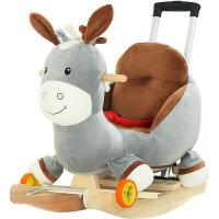 婴儿摇摇车周岁玩具礼物 儿童早教音乐木马儿童摇马宝宝摇椅