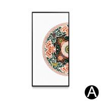 新中式装饰画现代客厅沙发背景墙挂画书房玄关禅意壁画吉祥中国风SN4277 60*120 单幅价格尺寸可定制